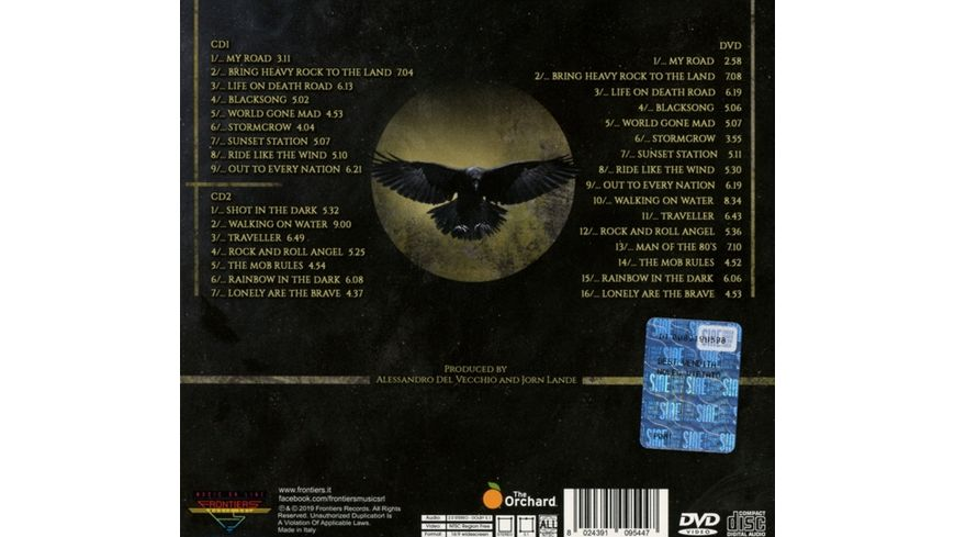Live On Death Road 2CD DVD Digipak