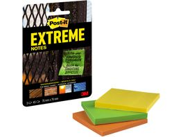 Post It Extreme Notes 3 x 45 Blatt 76 x 76mm