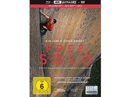 Free Solo Mediabook UHD Blu ray DVD