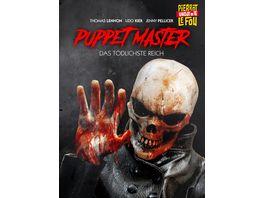 Puppet Master Das toedlichste Reich uncut Limited Edition Mediabook DVD