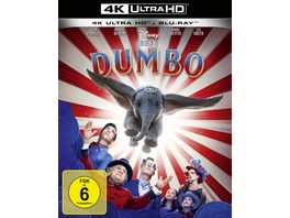 Dumbo Live Action 4K Ultra HD Blu ray 2D