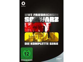 Schwarz Rot Gold Die komplette Serie mit Uwe Friedrichsen 9 DVDs