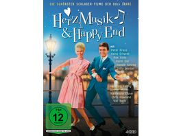 Herz Musik Happy End Die schoensten Schlager Filme der 60er Jahre 4 DVDs
