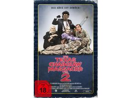 The Texas Chainsaw Massacre 2 Limited Collector s Edition im VHS Design 2 BRs