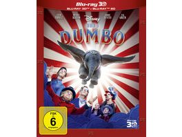 Dumbo Live Action Blu ray 2D