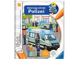 Ravensburger tiptoi Unterwegs mit der Polizei