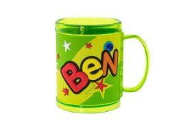 H H Namensbecher Ben