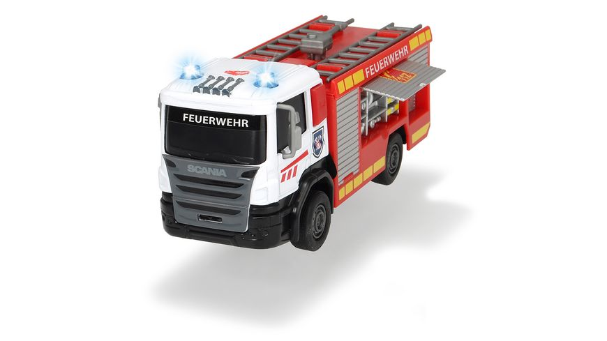Dickie Scania Fire Rescue 1 Stueck sortiert