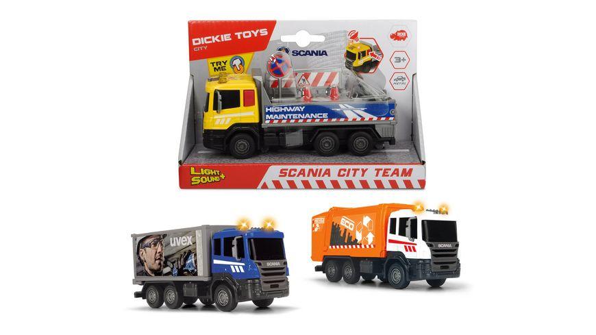 Dickie Scania City Team 1 Stueck sortiert