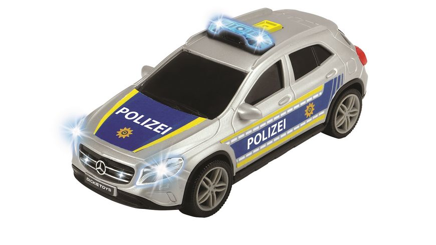 Dickie Police Unit 1 Stueck sortiert