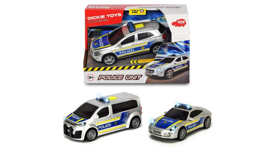 Dickie - Police Unit, 1 Stück, sortiert