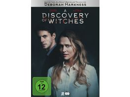 A Discovery of Witches Staffel 1 2 DVDs