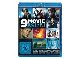 9 Movie Sci Fi Collection 3 BRs