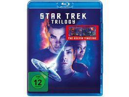 STAR TREK Three Movie Collection 3 BRs