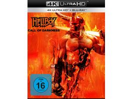 Hellboy Call of Darkness 4K Ultra HD Blu ray 2D