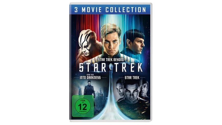 STAR TREK Three Movie Collection 3 DVDs