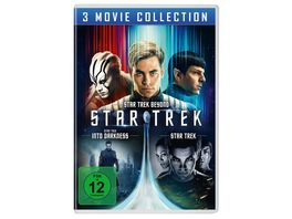 STAR TREK Three Movie Collection 3 DVDs