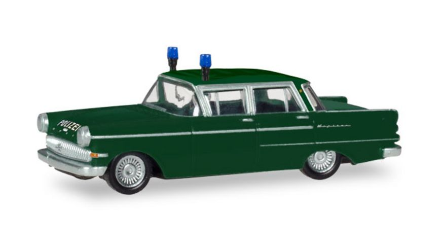 Herpa 093835 Opel Kapitaen Polizei