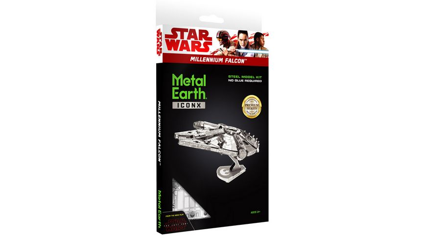 Metal Earth 502958 Iconx STAR WARS Millennium