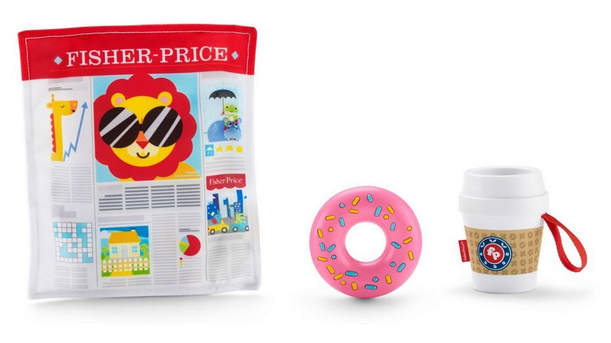 Fisher Price Coffee To Go Baby Set