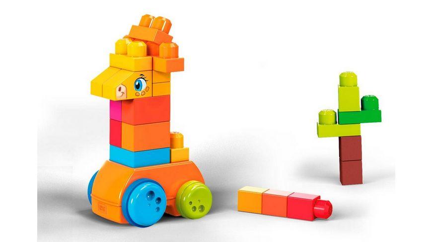 Fisher Price Mega Bloks Spiel Giraffe 30 Teile