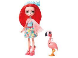 Enchantimals Fanci Flamingo Swash Puppe
