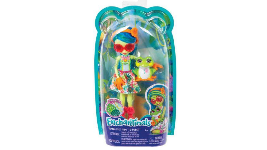 Mattel Enchantimals Tamika Tree Frog Burst