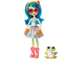 Mattel Enchantimals Tamika Tree Frog Burst