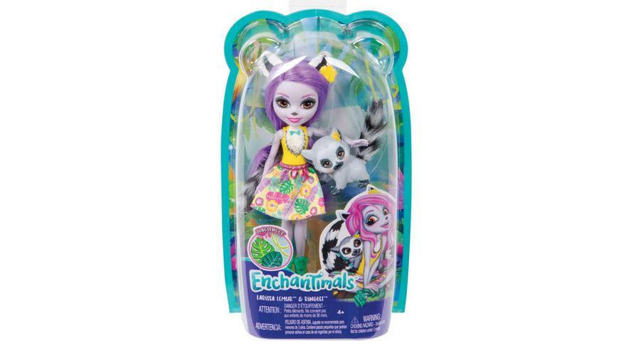 Mattel Enchantimals Larissa Lemur Ringlet