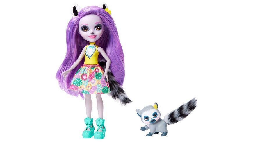 Mattel - Enchantimals - GFN44 Larissa Lemur & Ringlet