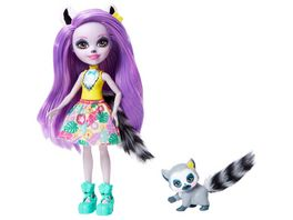 Mattel Enchantimals GFN44 Larissa Lemur Ringlet
