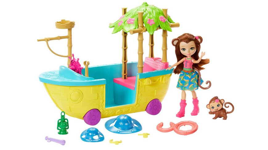 Mattel Enchantimals Dschungelwald Boot