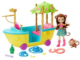 Mattel Enchantimals Dschungelwald Boot