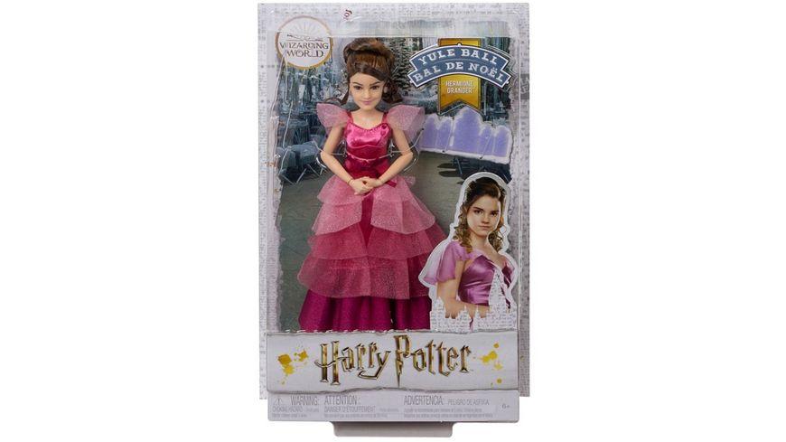 Mattel Harry Potter Hermine Granger Weihnachtsball Puppe
