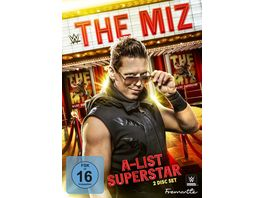 WWE The Miz A List Superstar DVD VK 2 DVDs