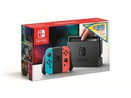 Nintendo Switch Konsole Neon rot Neon blau 35 EUR Guthaben E Shop