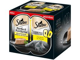 Sheba Perfect Portions mit Huhn 6er Pack