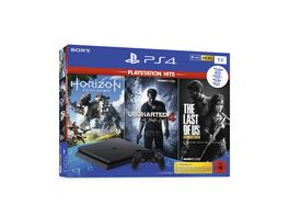 PS 4 Bundle Hits HZD Complete Edition Voucher UC4 TLOU 1