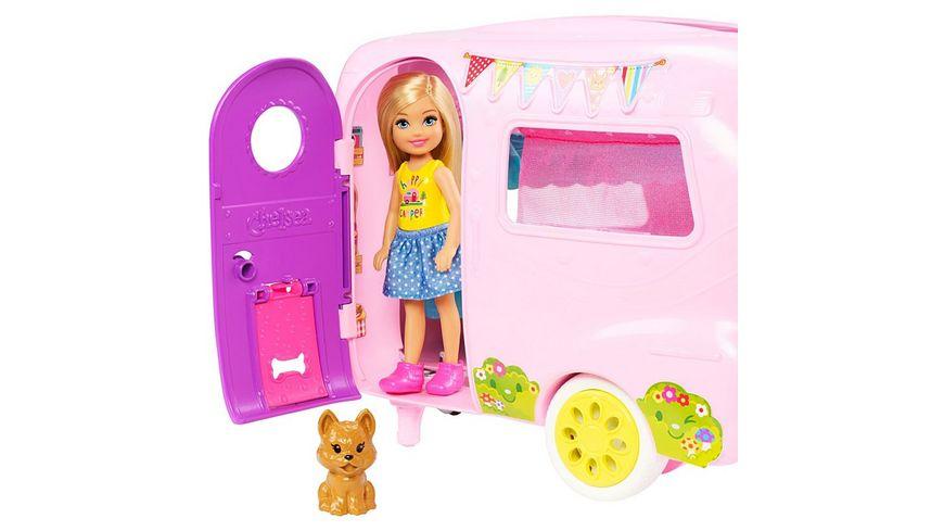 Mattel Barbie Chelsea Camper und Puppe Spielset
