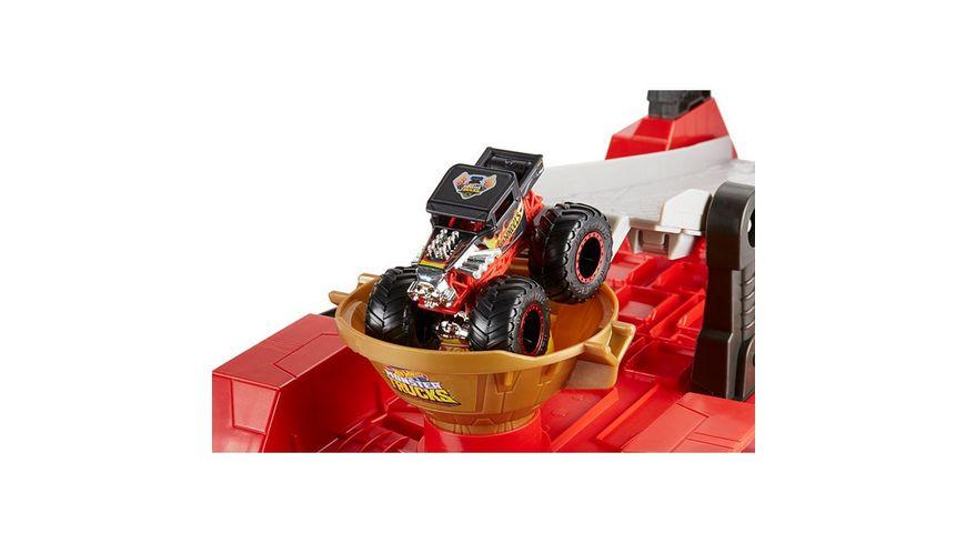 Mattel Hot Wheels 2 in 1 Crashrennen Truck