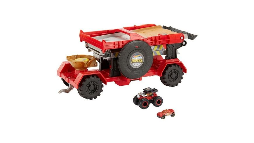 Mattel Hot Wheels 2 in 1 Crashrennen Truck