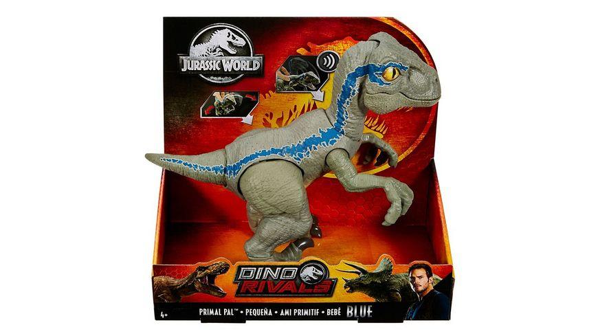Mattel Jurassic World Dinofreundin Blue