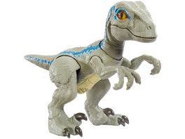 Mattel Jurassic World Dinofreundin Blue