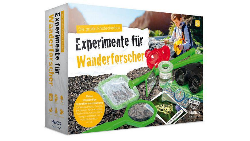 FRANZIS Experimente fuer Wanderforscher