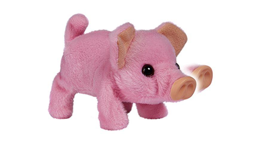 Simba Chi Chi Love Mini Schwein 14 cm laeuft quiekt und wackelt