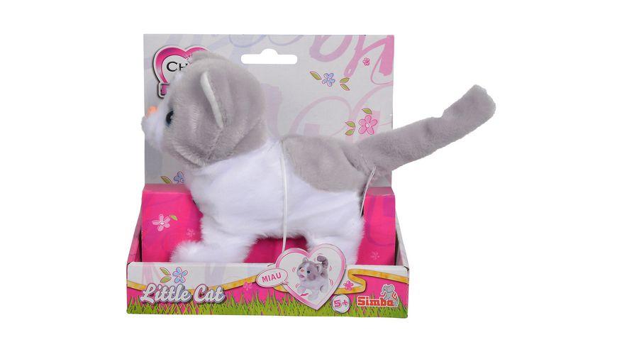 Simba Chi Chi Love Mini Katze 15 cm laeuft miaut und wackelt