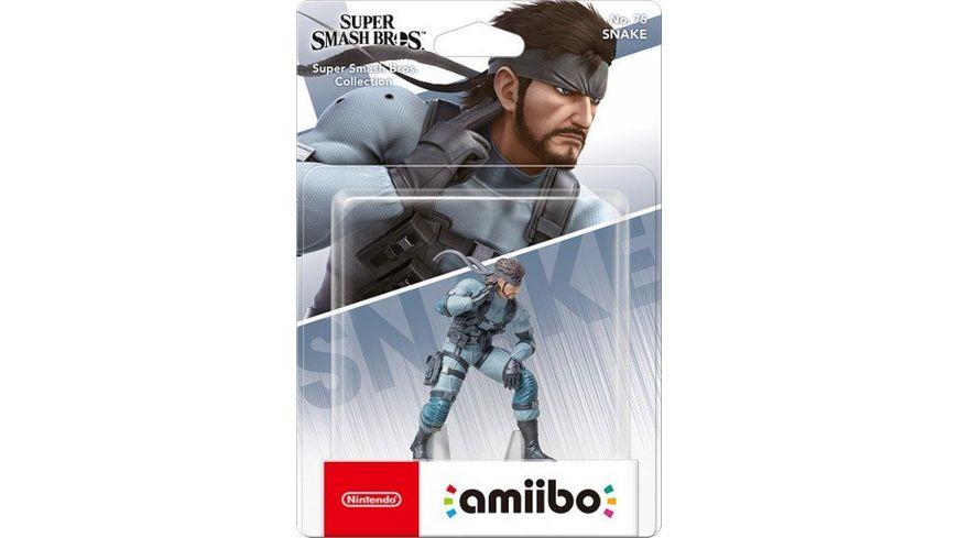 amiibo Figur Super Smash Bros Snake