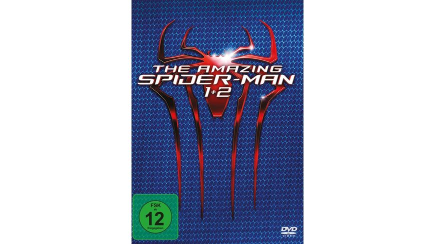 The Amazing Spider-Man / The Amazing Spider-Man 2 ™: Rise of Electro  [2 DVDs]