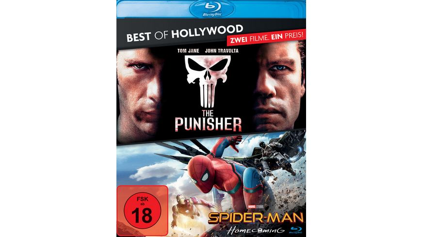 The Punisher/Spider-Man: Homecoming - Best of Hollywood  [2 BRs]