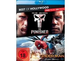 The Punisher Spider Man Homecoming Best of Hollywood 2 BRs